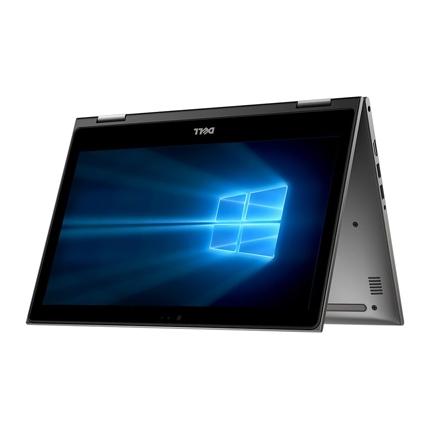 """Dell Inspiron 5379 - màn hình lật - Vỏ nhôm C3TI7501W-Grey Core i7 8550U, 1.8 upto 4Ghz, 8GB DDR4, HDD 1TB, Intel UHD620, 13.3"""" full HD LED màn cảm ứng-Touch - Win10H +  Office 365"""