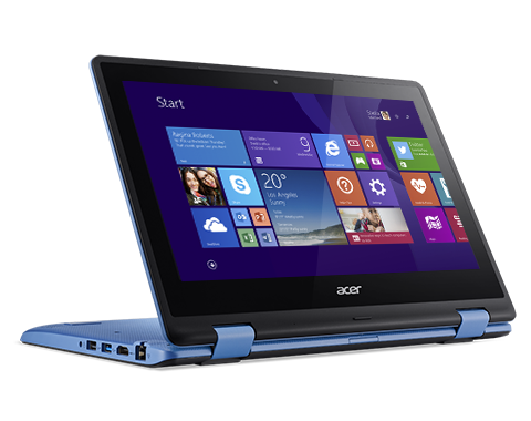 "Acer R3-131T-C70L NX.G0YSV.001 Intel Celeron N3060(1.60GHz up to 2.48GHz) - RAM 2GB - HDD 500GB - No DVD-RW - 11.6"" Touch, xoay 3600 - Win10"
