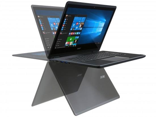 "Acer R5-471T-54W0 NX.G7WSV.002 Intel Core i5 6200U(2.30GHz up to 2.8GHz) - RAM 4GB - 128GB SSD - No DVD-RW - 14"" FHD Touch, xoay 3600- Windows 10"