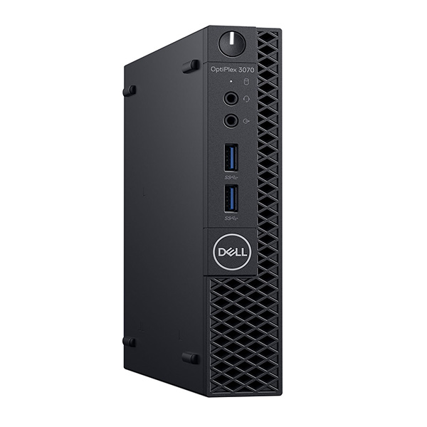 PC Dell OptiPlex 3070 Micro _i3 WL 42OC370002, i3-9100T, RAM 4G, HDD 500, WIFI, Linux, 1Y