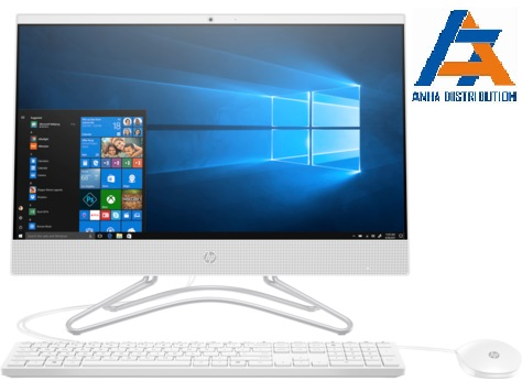 "HP All In One 22-c0118d  5QC36AA i3-9100T;4GB;1TB72,21.5"" FHD;DVDRW;USB Keyboard & Mouse;Win10;Trắng"