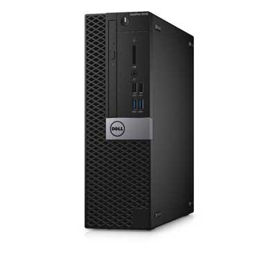 Máy tính để bàn Dell OptiPlex 5050 SFF( Chassis: Small Form Factor) - 500GB (core i7-7700, ram 8G(2x4) DDR4 2400Mhz, 500G HDD, DVDR, K/m, Ubuntu, waranty 1y)