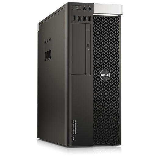 Máy tính để bàn Dell Precision  T5810 - E5 1607v3 42PT58DW08 (Mini Tower) intel xeon E5-1607v3, Ram 8G(2x4) 2133 DDR4 ECC, 1TB HDD, DVDR, Nvidia K620 2G, K/m, win 7 Pro, waranty 3y
