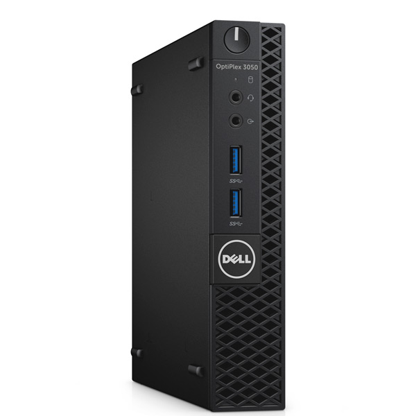 Máy tính để bàn Dell OptiPlex 3050 Micro 42OC350002 - Wireless -thay thế dòng 3046 (core i3-7100T, Ram 4G DDR4 2400Mhz, 500G, Wireless, K/m, ubuntu, waranty 1y)