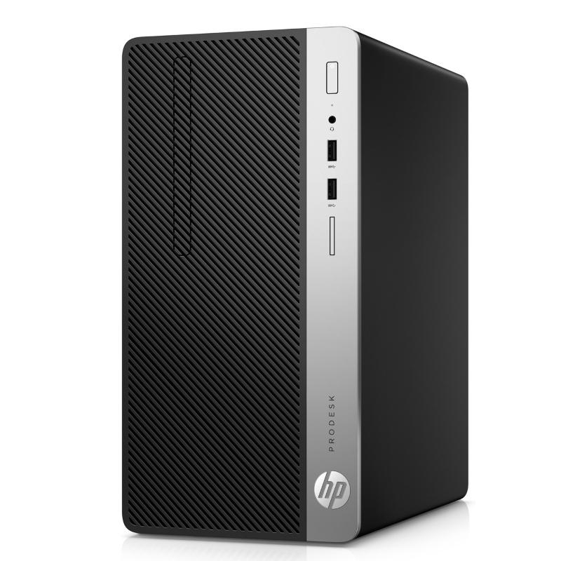 Máy tính để bàn HP ProDesk 400 G5 MT i3-8100(4*3.6)/ 4GD4/ 500G7/ DVDRW/ KB/M/ ĐEN/ DOS/ China. PCIe NVMe TLC SSD drives_ 4ST28PA