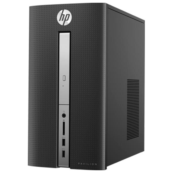 Máy tính để bàn HP Pavilion 570-p013l Z8H71AA (Intel Core i3-7100(3.9GHz,3MB), Intel H270, 4GB DDR4, 1TB SATA 7200rpm, DVDRW, VGA, HDMI, WLAN 802.11 bgn )
