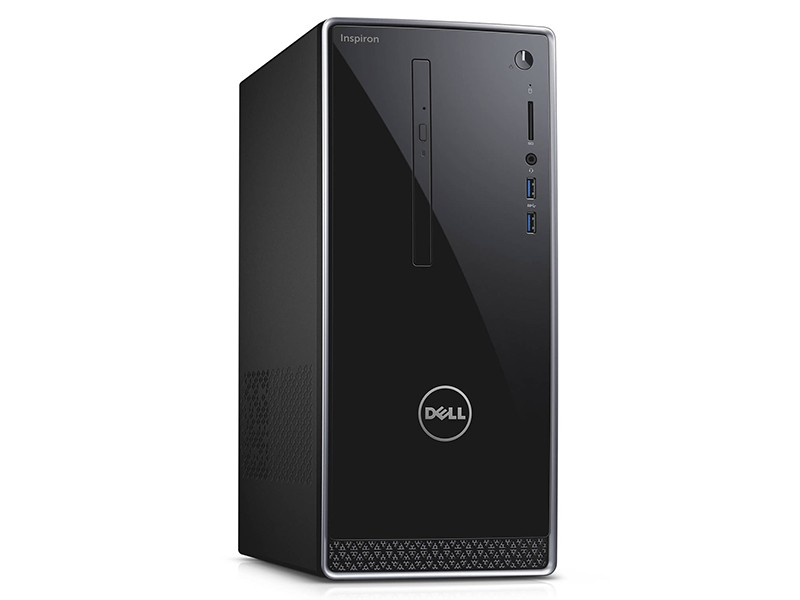 Máy tính để bàn Dell Inspiron 3670 42IT37D009 Intel Core i7-8700 (3.20GHz Upto 4.60GHz, 6 Cores, 12 Threads, 12MB Cache)-8GB DDR4 (1x8GB) 2666MHz Up to 32GB -1TB HDD + 128GB M.2 SSD-NVIDIA GeForce GTX 1050Ti 4GB GDDR5-Ubuntu Linux- Wlan + Bluetooth