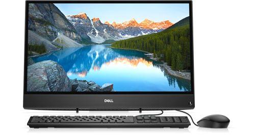 Máy tính để bàn DELL Inspiron AIO 3280B, Intel Core i5-8265U ( 1.60 GHz - 3.90 GHz / 6MB / 4 nhân, 8 luồng ), 4GB DDR4 2666MHz , 1TB 54R, 21.5-inch FHD (1920 x 1080),  MX110/2GB, Keyboard, Mouse, Cable, Win10