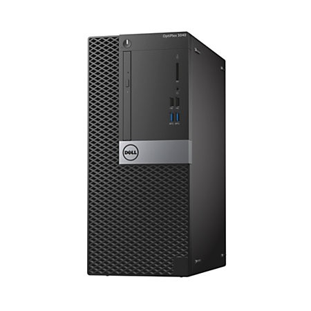 PC Dell OptiPlex 3050 MT 42OT35D005 (Intel Core i5-7500 (QC/6MB/4T/3.4GHz/65W); Intel  B250 Chipset, Ram 4GB(1x4GB)2400MHz DDR4, HDD 1TB, AMD Radeon R7 4GB, DVD+/-RW, M&K,1y)