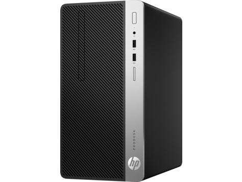 HP ProDesk 400MT G4 1AY74PT (CPU 7500 7GEN Core i5-4C, 4GB (1X4GB) DDR4-2400 RAM, 1TB HDD, DVDWR, HP PRODESK 400BRO310W MT CHARSSIC, WARR 1/1/1, FreeDOS 2.0,K/m)
