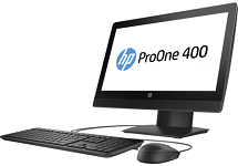 "HP ProOne 400 G3 2ED75PA (Core i5-7500T(2.70GHz,6MB),4GB RAM DDR4,1TB HDD,DVDRW,Intel HD Graphics,20"" Touch,USB K & M,Wlan ac + BT,Adjustable Stand,Win 10 Home 64,3Y WTY)"