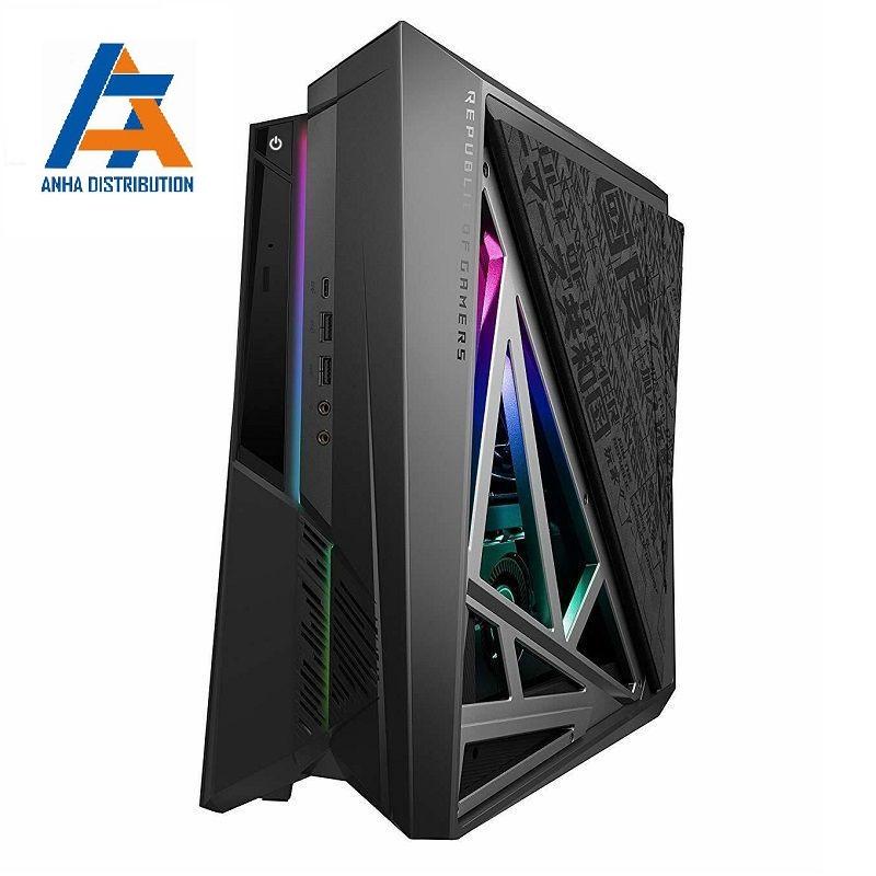 (PC) ASUS ROG HURACAN G21CX i5-9400F/16GD4/512G-PCIE/WLac/BT5/DVD/230W+180W/XÁM/W10SL/6GD6_RTX2060