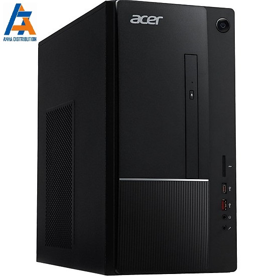 Máy tính để bàn Acer TC-865, Core i3-9100(3.60 GHz,6MB), 4GBRAM, 1TBHDD, Intel UHD Graphics, USB KB & Mouse, Endless OS, 1Y WTY_DT.BARSV.00A