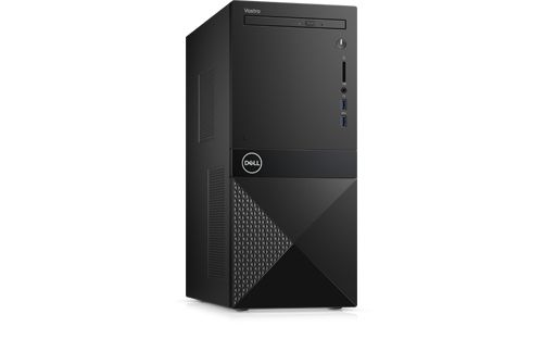PC Dell Vostro 3671 42VT370044 G5420 (4M Cache, up to 3.8 GHz), Intel® B365 chipset, Ram : 4GB (1x4GB), 1TB 7200RPM SATA 6Gb/s, Tray load DVD Drive,  Optical Mouse & Keyboard, Windows 10 Home Single