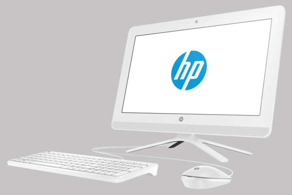 "PC All In One HP 24-G205l AiO  24"" Non-Touch : Intel Core i5-7200/4G DDR4/1TB/SuperMulti DVDRW no SW/KM USB/Back I/O Port:DC power input,  Power activity LED,LAN,USB 2.0: 4, HDMI/23.8 Inch Non-Touch/DOS/1Y"