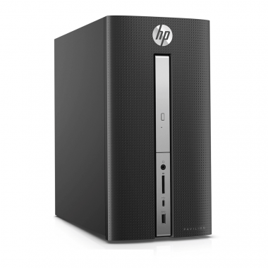 HP Pavilion 570-p015l Z8H73AA (Intel Core i3-7100(3.9GHz,3MB), Intel H270, 4GB DDR4, 500GB SATA 7200rpm, DVDRW, VGA, HDMI, WLAN 802.11 bgn )