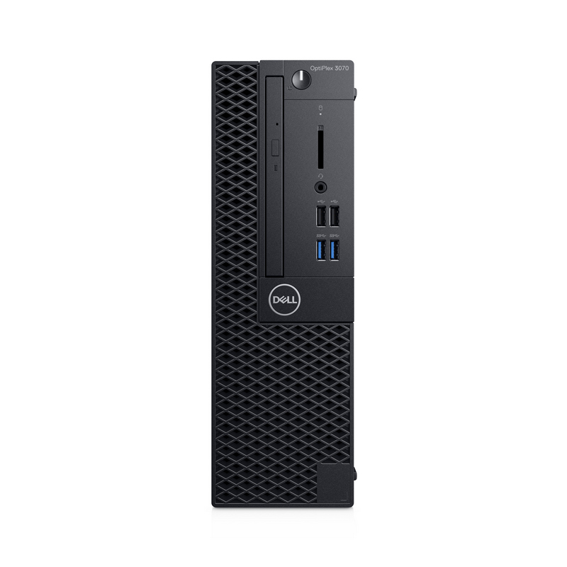 Máy tính để bàn Dell OptiPlex 3070 SFF 70199618,  Intel Core i3-9100 (3.60 GHz,6 MB),4GB RAM,1TB HDD,DVDRW,VGA Port,Keyboard,Mouse,Fedora,1Yr
