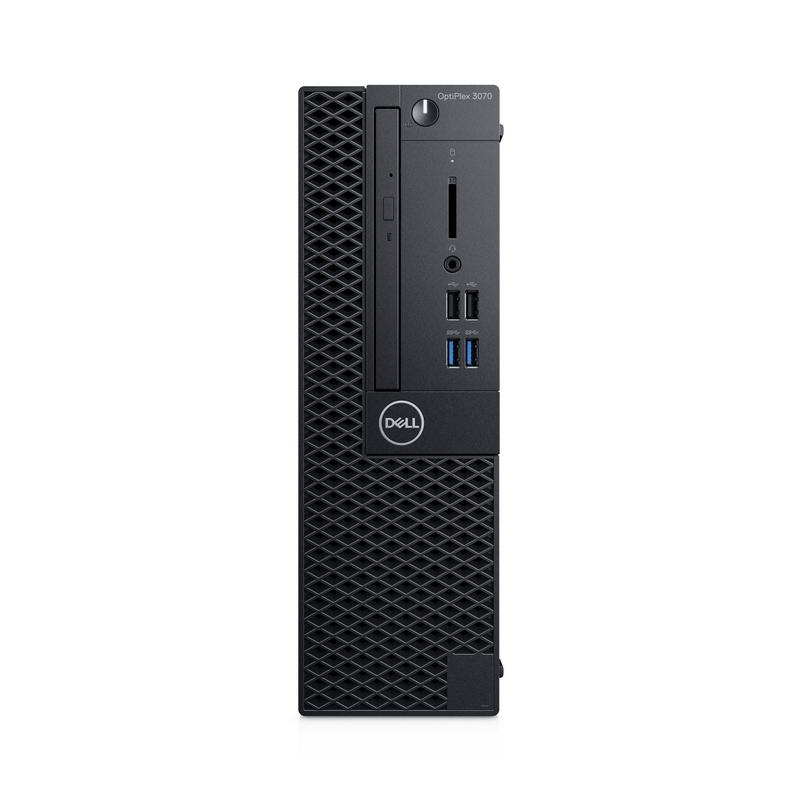 PC Dell OptiPlex 3070 SFF 70205792, Intel Core i3-9100 (3.60 GHz,6 MB),4GB RAM,1TB HDD,DVDRW,VGA Port,Keyboard,Mouse,Fedora,3Yr