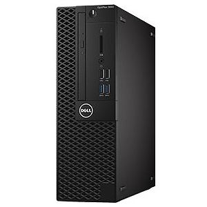 PC Dell OPTIPLEX 3050SFF  3050SFF-7500-500GB (Core i5-7500 Processor (6MB, 4T, 3.4GHz, 65W)/ Ram: 4GB DDR4 2400/ Hard Drive : 500GB SATA/ Optical Drive : NO- DVD/ Key & Mouse/ Ubuntu/ 1 Year)