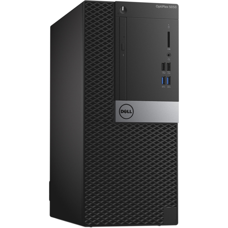 PC Dell OptiPlex 5050 MT 70131614 (Máy tính để bàn Dell OptiPlex 5050 MT, Intel Core i5-7500(3.4GHz,6MB),4GB RAM,500GB HDD,DVDRW,Mouse,Keyboard,Ubuntu,3Yrs)